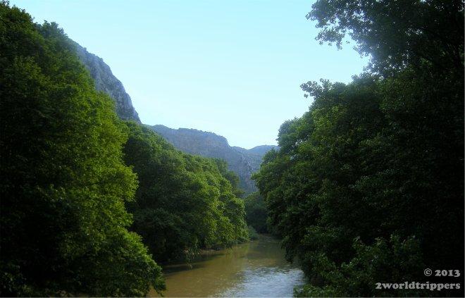 Nature around the Pineios river