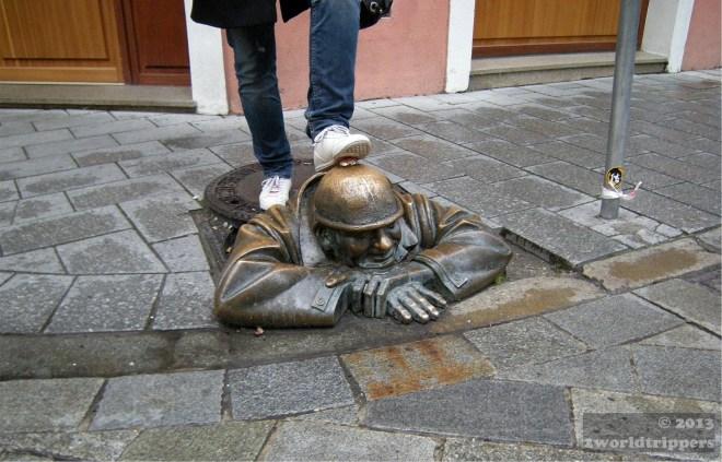 The Watcher of Bratislava